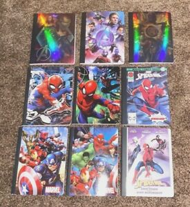 Marvel U Choose Composition Notebook Wide Rule 100 pages Multi Discount NEW