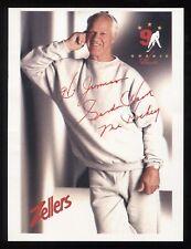 Gordie Howe Signed Photo Autographed Hockey Hall of Fame Signature NHL