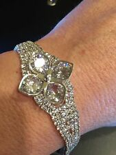 wedding or bridesmaid executive quality cubic zirconia bracelet