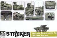 AFV Club Upgrade Equipment for Stryker -- Plastic Model Military 4716965359591