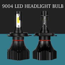 2PCS 9004 HB1 LED Headlight Conversion Kit Hi/Low Beam Bulbs 6500K White S10-BK