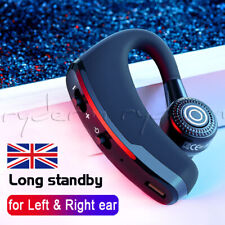 Hands Free Bluetooth 4.0 Headset Car Kit Handsfree For Iphone Samsung Htc Uk