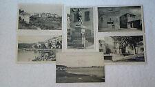 Lot 5 Vintage 1910 20s Postcards Corse Corte Calvi Erbalunga Cervione Ile Rousse