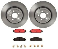 Brembo Front Brake Kit Ceramic Pads Disc Rotors for Chrysler Dodge with Perf PKG