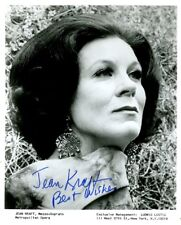Opera Star JEAN KRAFT Signed Photo