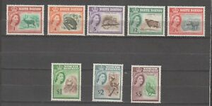 s38443 NORTH BORNEO1961 MNH** Definitives 9v with $1, $2, $5
