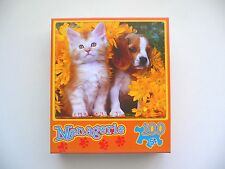 """FLUFFY FRIENDS"" Adorable Beagle Puppy & Kitten 100 Piece Jisgsaw Puzzle 5+ BN"