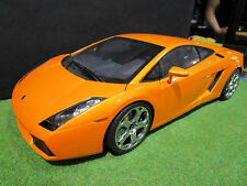 LAMBORGHINI GALLARDO orange métal 1/12 AUTOART 12092 voiture miniature collectio