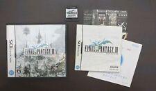 Nintendo DS FINAL FANTASY III 3 Japan import NDS game US Seller
