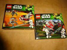 LEGO StarWars 75000 Clone Trooper 75001 Republic Troopers vs. Sith Troopers-neu