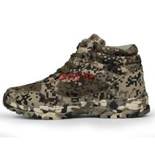 Mens Climbing Military Camo Tactical High Top Boots Sneakers Outdoor Shoes N033