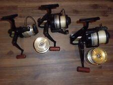 3- Vintage Daiwa PS7000BL-PS4000BL-PS1600BL Spinning Reels w/ Spools