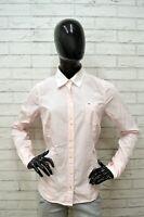 Camicia Maglia Donna TOMMY HILFIGER Taglia L Shirt Woman Cotone Manica Lunga