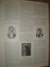 Dr Williams Pink Pills advert dressed up as miracle cure anecdotes 1899
