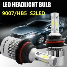 1PC 9007/HB5 LED Headlight Hi/Lo Beam 36W 8000LM Car Light Bulbs 6500K White DS