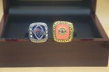 2pcs 1979 2013 Denver Broncos World Championship Ring !