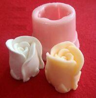 1 Moule de ROSE 3D Silicone pour Pâte Polymère Fimo Platre Polyester Cire Resine