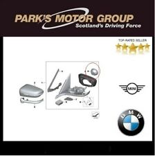 BMW Genuine Drive For Wing Mirror Left & Right. 5/6/7/8 F Series 67137337847