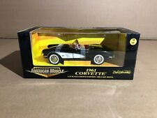 1961 Corvette American Muscle Limited Edition 1:18 scale