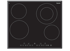 NEW BAUMATIC BCC600 4 Burner Electric Touch Control Cooktop