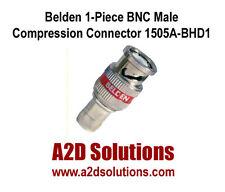 BOX-50  Belden 1505ABHD1 1505A RG59 HD BNC 1-Piece Compression Connectors