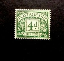 GB POSTAGE DUE SG D 31 4d Dull grey-green 1937/38 GVI  Mounted Mint