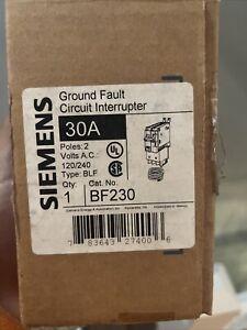 New BF230 Siemens Circuit Breaker 10kA@240V BLF 2P 30 Amp 240V