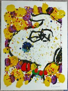 """TOM EVERHART """"SQUEEZE THE DAY""""-WEDNESDAY"""" hand signed with COA #187/500"""