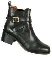 Carvela Womens Kurt Geiger Ankle Boots Size Eur 41/US 10M Black Leather Buckle