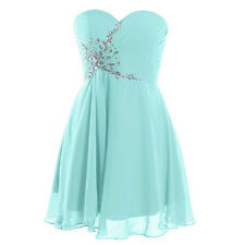 Short Formal Prom Dress Bridesmaid Party Gown Homecoming Dresses US Size 2-22