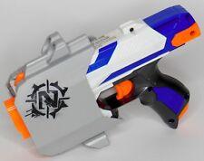 Nerf N-Strike Elite Zombie Strike Sidestrike Blue & White Dart Gun With Holster