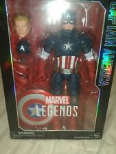 "Marvel Legends Series Captain America 12 "" Inch Hasbro Action Figure"
