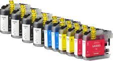 Kit 10 Cartucce InkJet Compatibili per Brother LC223 MFC-J5320DW MFC-J480DW