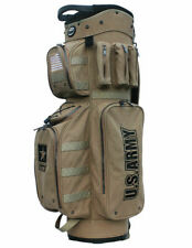 New Hot-Z Golf ARMY Cart Bag Active Duty Military Golf Cart Bag