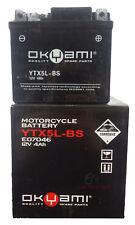 BATTERIA OKYAMI YTX5L-BS 12V 4AH HUSQVARNA SMR 450 2012 2013 2014