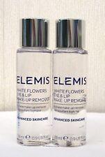 Elemis White Flowers Eye & Lip Make Up Remover 2 x 28ml  - New