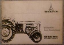 Deutz Schlepper D 5505 Ersatzteilliste