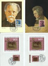 37280 Maximum Card Franz Liszt 1986 Germany : Music