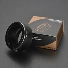 LEINOX AI-NEX Adapter for Nikon AI/AIS Lens to Sony E A7R A7II A9 A7RII D6300