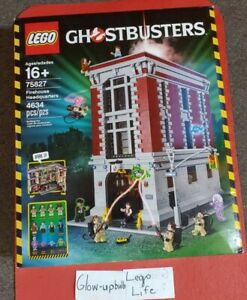 LEGO GHOSTBUSTERS (75827) Firehouse Headquarters -NISB(Retired Product)