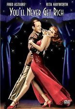 YOU'LL NEVER GET RICH/FRED ASTAIRE/RITA HAYWORTH/CLASSIC MUSICAL COMEDY NEW