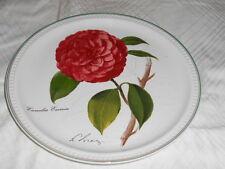 Villeroy & Boch - Wandteller Camellia-  1989 - Durchm. ca. 23 cm