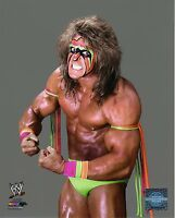 "ULTIMATE WARRIOR PHOTO WWE 8x10"" OFFICIAL WRESTLING PROMO"
