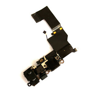 100% Genuine Apple iPhone 5S USB charge port flex+microphone+antenna wire A1457