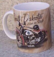 Coffee Mug Explore America South Dakota Sturgis NEW 11 ounce cup with gift box