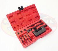 Motorcycle Chain Heavy Duty Breaker & Riveter Riveting Tool Kit 420-630 Chains