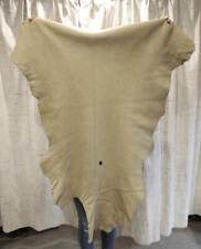 Tan Deerskin Leather Hide for Native Craft Buckskins Costumes Laces Bags Fabric
