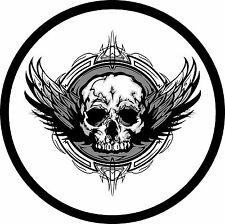 Flying Skull Jeep Wrangler Liberty RV Trailer Camper Spare Tire Cover