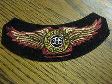 Vintage Used Original 1998 Harley Owners Group Cloth Patch