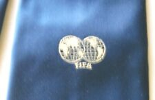 NECK TIE FIFA ORIGINAL YEARS' 70 OFFICIAL INSTITUTIONAL WORLD CUP FEDERATION